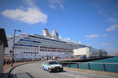 那覇で寄港する2つの港の違い