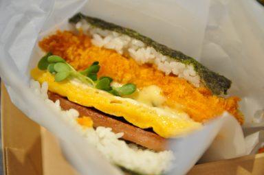 ポーたま 北谷 アメリカンビレッジ店 / pork tamago onigiri